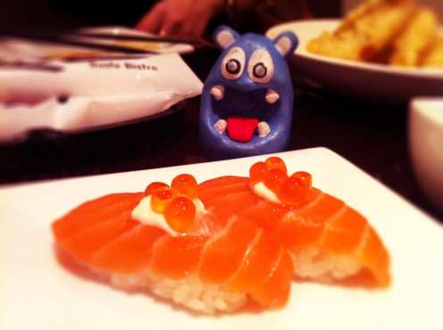 Salmon Creme Fraiche from KAZ Sushi Bistro