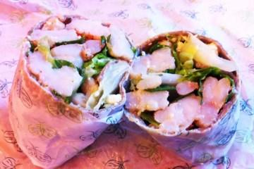 Santorini Wrap from Sweetgreen