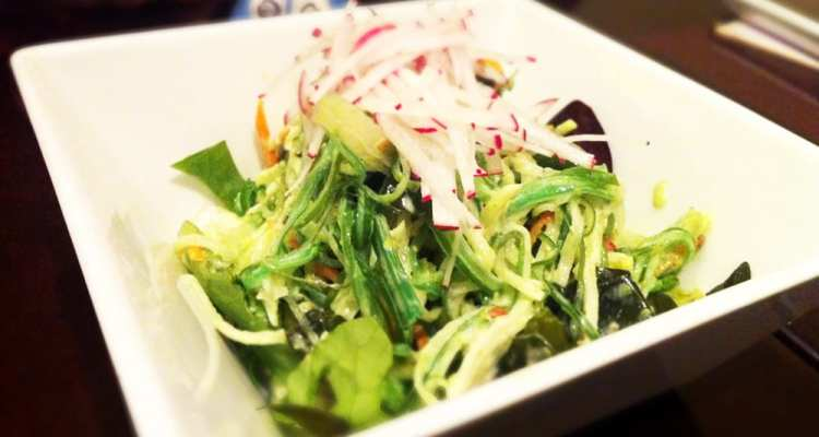 Seaweed Salad from KAZ Sushi Bistro