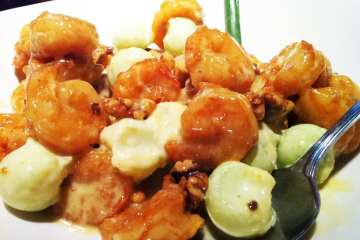 Shrimp with Candied Walnuts from PF Chang's