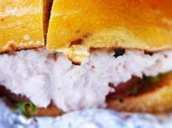Solid White Tuna Salad Bagel from Bethesda Bagels