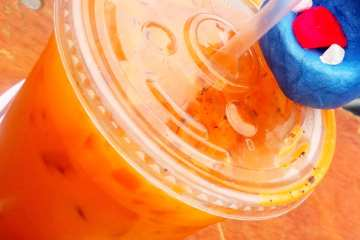 Thai Ice Tea from Sang on Wheels