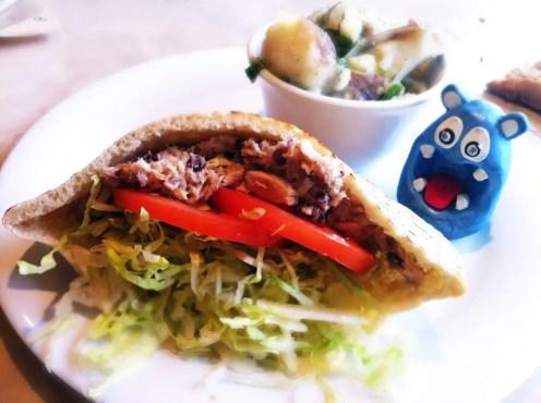 Tuna Pita from Zoes Kitchen