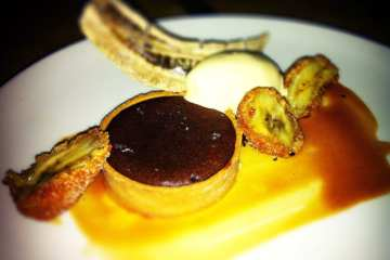 Warm Mexican Chocolate Tart from Birch & Barley