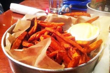 Yam Fries from Seva