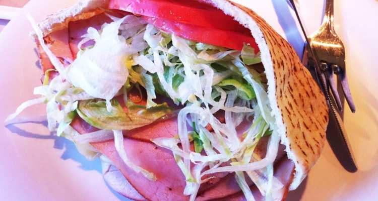 Zoes Club Pita from Zoes Kitchen