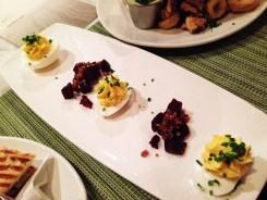 Farm Fresh Deviled Eggs from 8407 Kitchen Bar