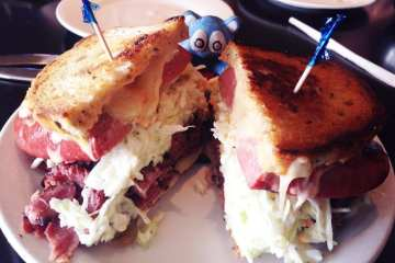 The Blume Sandwich from Brooklyn's Deli Rockville