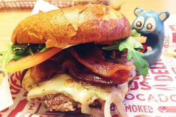 Capital Burger from Smash Burger