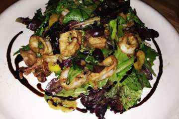 Sweet & Tangy Calamari Salad from Matchbox Rockville