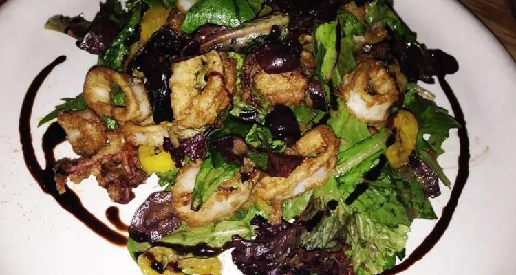 Sweet & Tangy Calamari Salad from Matchbox Rockville