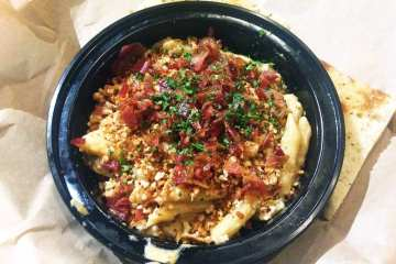 Mushroom Truffle Mac n Cheese $9 @ Adega Silver Spring