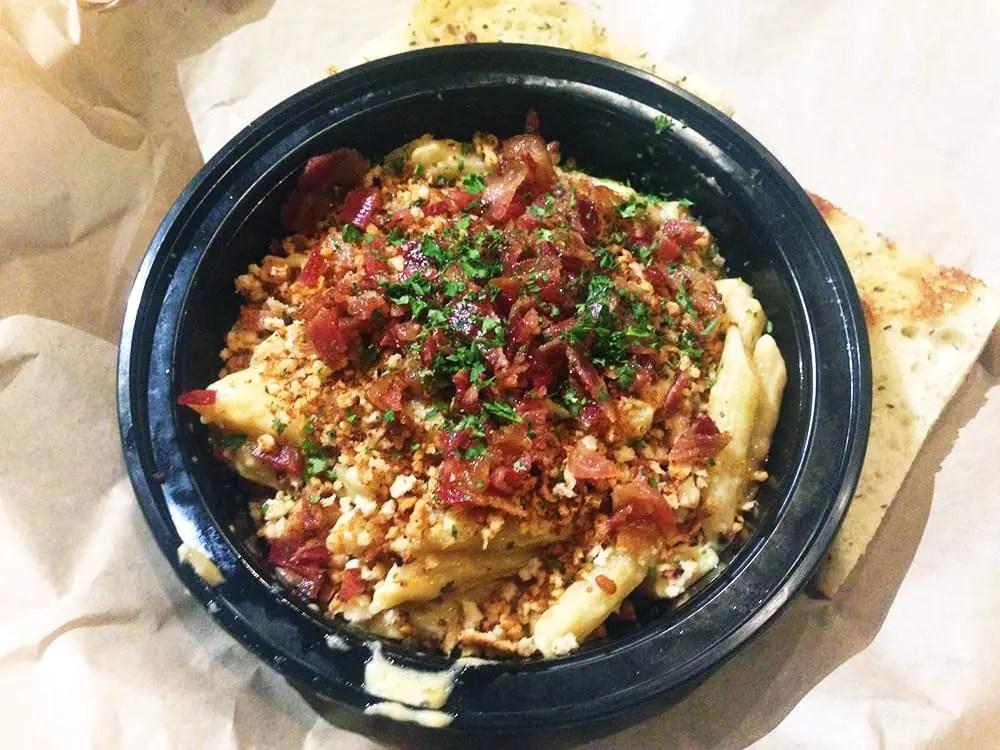 Mushroom Truffle Mac N Cheese $9 @ Adega Down Town Silver Spring