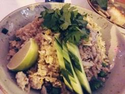 Blue Crab Fried Rice @ Doi Moi DC