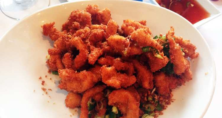 Salt & Pepper Calamari $11 @ Rangoon Ruby San Francisco