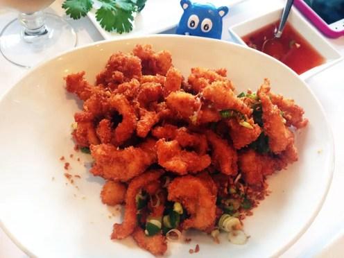 Salt & Pepper Calamari $11 @ Rangoon Ruby San Francisco