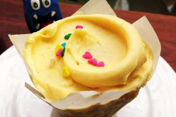 UniPorns & Rainhos Cupcake @ Baked & Wired Georgetown DC