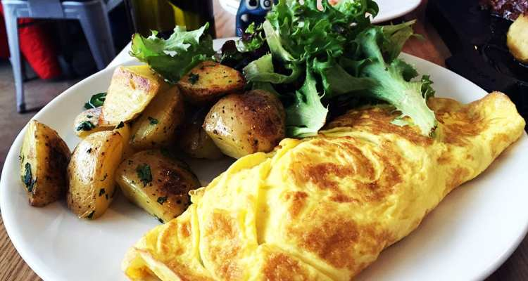 Sunday Brunch House Bacon Omelet $12 @ Urban Butcher Silver Spring