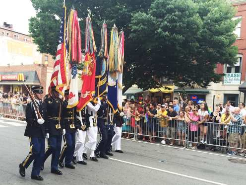 Honor Guard at Capital Gay Pride 2015