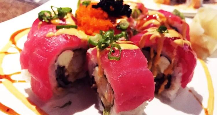 Sex on the Moon Sushi Roll $13 @ Cho Oishi Los Angeles California