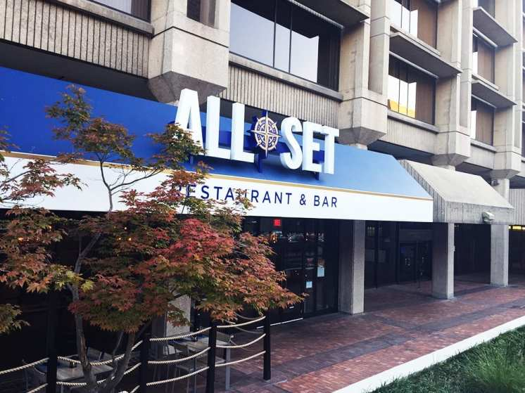 All Set Restaurant in Down Town Silver Spring