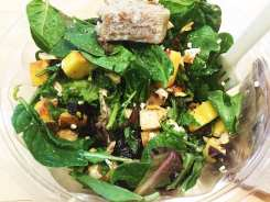 Peach and Goat Cheese Salad $9 @ SweetGreen in Silver Spring