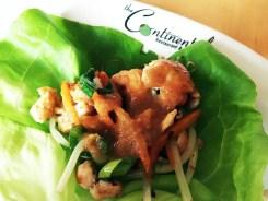 Thai Chicken Lettuce Wraps Tapas $13 @ Continental in Philadelphia