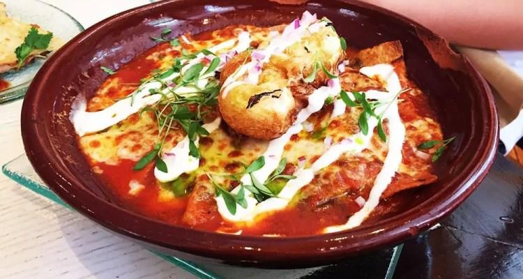 Chilaquiles Con Chorizo Tapas $10 @ Rosa Mexicano in Chinatown