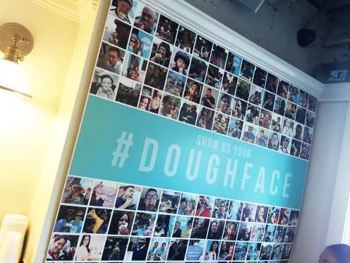 Dough Face at District Donut in Capitol Hill