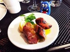 Chicken Sage Sausage Brunch $7 @ Cava Mezze on Capitol Hill in Washington DC