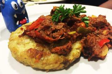 Ropa Vieja $18 @ Busboys and Poets in Takoma DC
