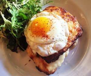 Croque Madame @ La Piquette in Cathedral Common DC