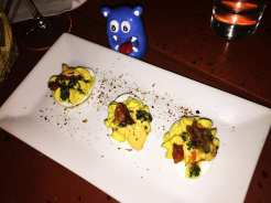 Vadouvin Deviled Eggs $8 @ Dino's Grotto on U Street in Washington DC