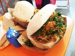 Steam Bun Sandwich @ Ekiben Baltimore at Emporiyum Food Market in Baltimore