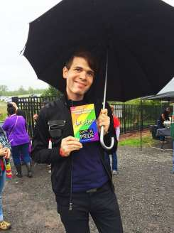 Just a cute gay boy at NOVA Gay Pride