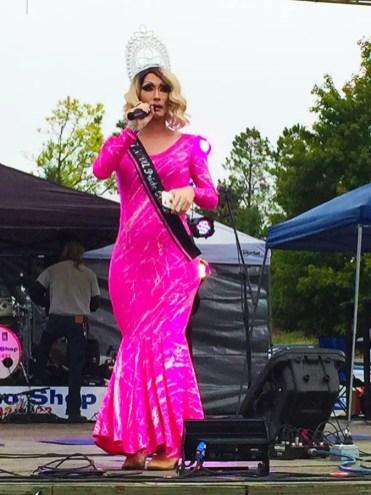 Fabulous Drag Queen at NOVA Gay Pride