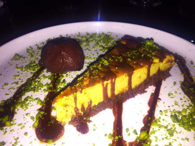 Baked Pistachio Cheesecake @ Drury Buildings in Dublin Ireland
