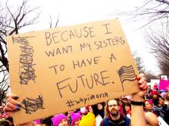Women's March on Washington DC