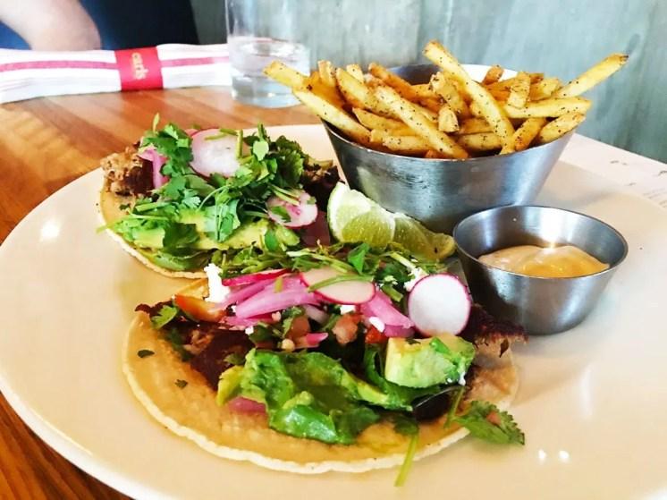 Pork Carnitas Tacos @ Earls in Tyson Corner, Washington DC