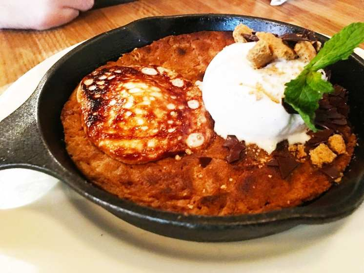 Smores Skillet Cookie @ Earls in Tyson's Corner, Washington DC