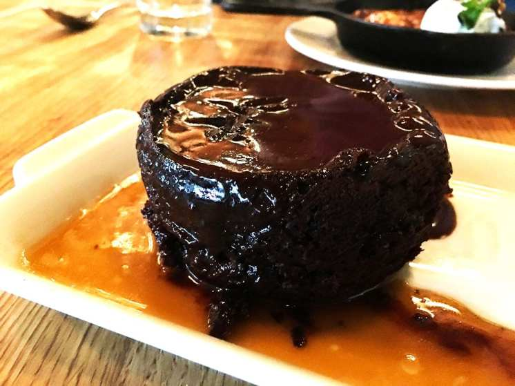 Sticky Toffee Chocolate Pudding @ Earls in Tysons Corner, Washington DC