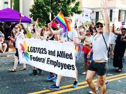 LGBTQ and Allied Federal Employees @ Capital Pride Parade 2017