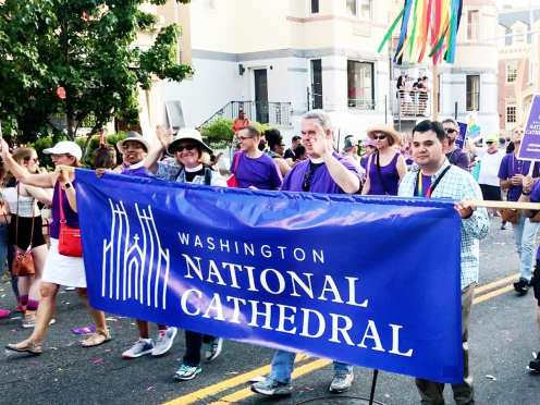 National Cathedral @ Capital Pride Parade 2017