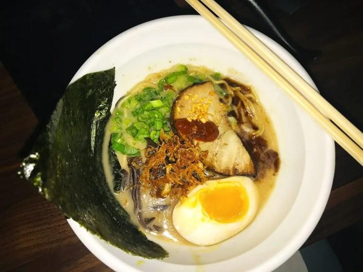 Tonkotsu Black Ramen @ Jinya