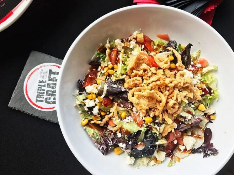 Southwest Chopped Salad @ Triple Craft