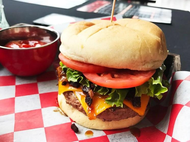 Sweet and Smokey Burger @ Triple Craft