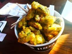 Brussels Sprouts Tempura @ Jinya Pike & Rose Rockville
