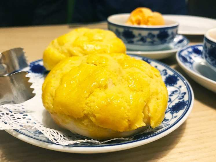 Creamy Egg Yolk Bun from Q by Peter Chang