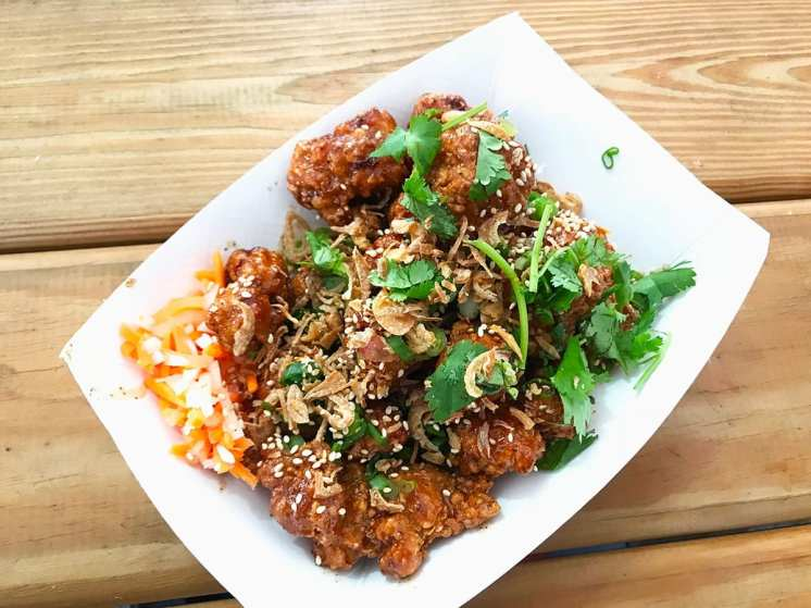 Taiwanese Fried Chickenfrom Maketto at Emporiyum 2018