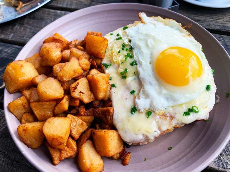 Croque Madame at Little Beast